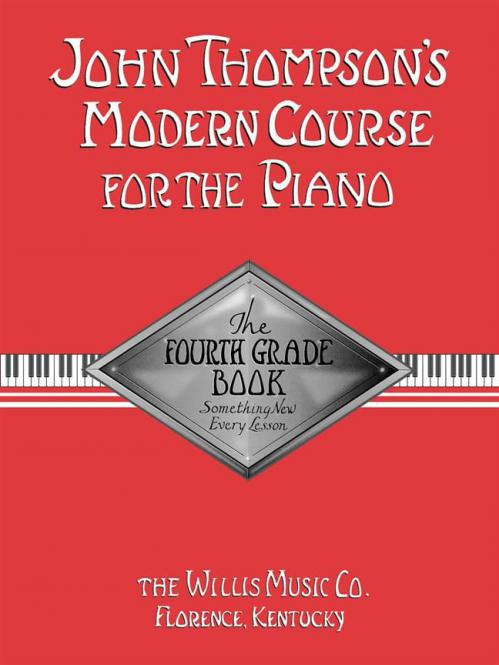 Modern Course For The Piano Fourth Grade Book