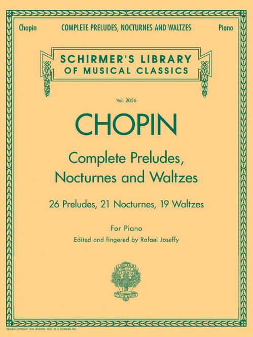 Complete Preludes, Nocturnes And Waltzes For Piano