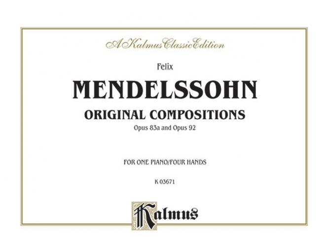 Original Compositions, Op. 83a & Op. 98