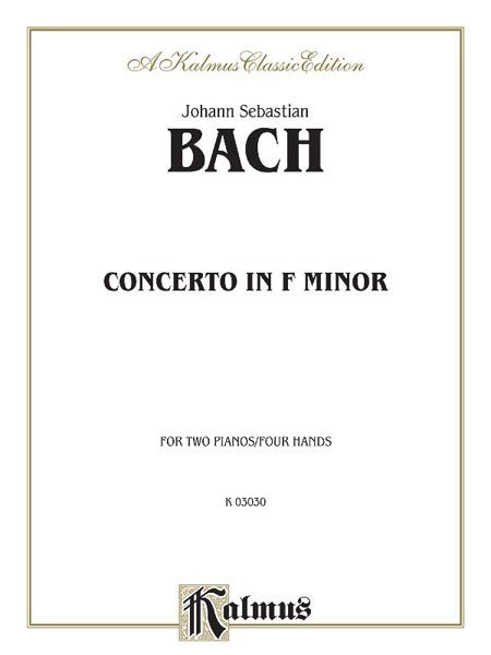 Konzert in f-Moll