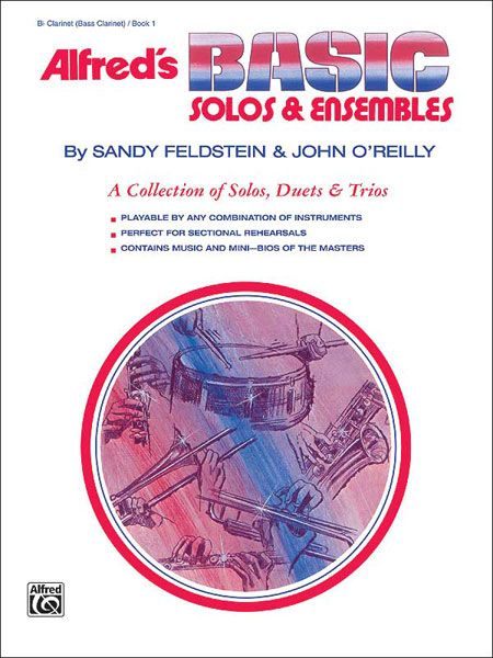 Alfred's Basic Solos And Ensembles Book 1