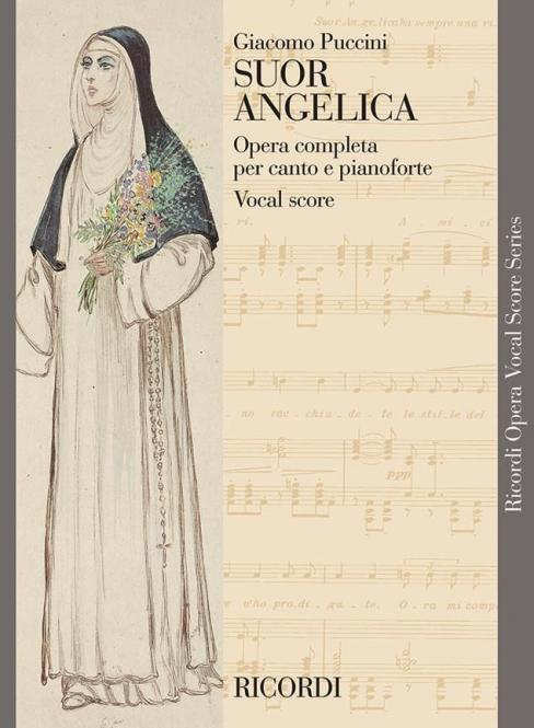 Suor Angelica (English/Italian) New Art Cover