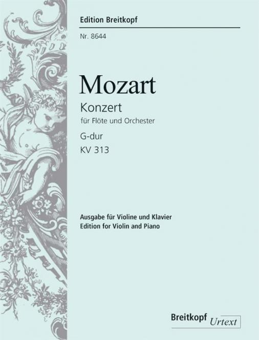 Flötenkonzert G-dur KV 313 (285c)