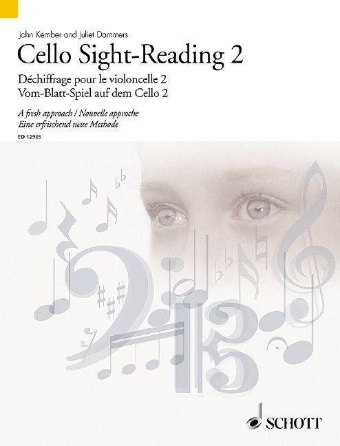 Vom-Blatt-Spiel auf dem Cello Vol. 2 Standard
