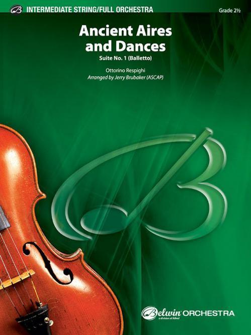 Ancient Aires and Dances, Suite No. 1