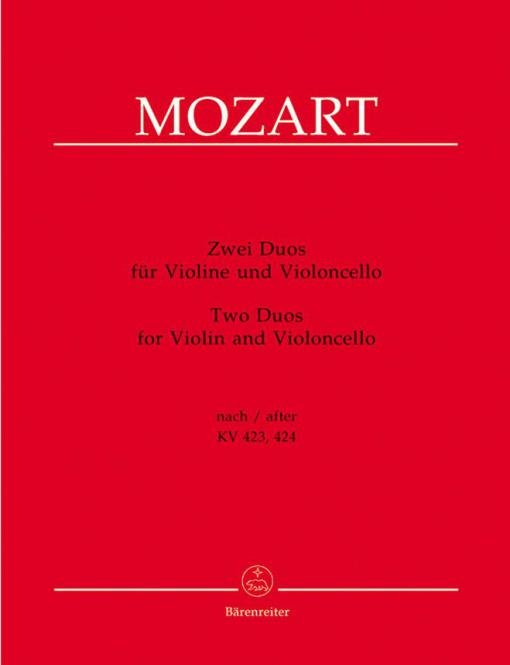 2 Duos für Violine und Violoncello
