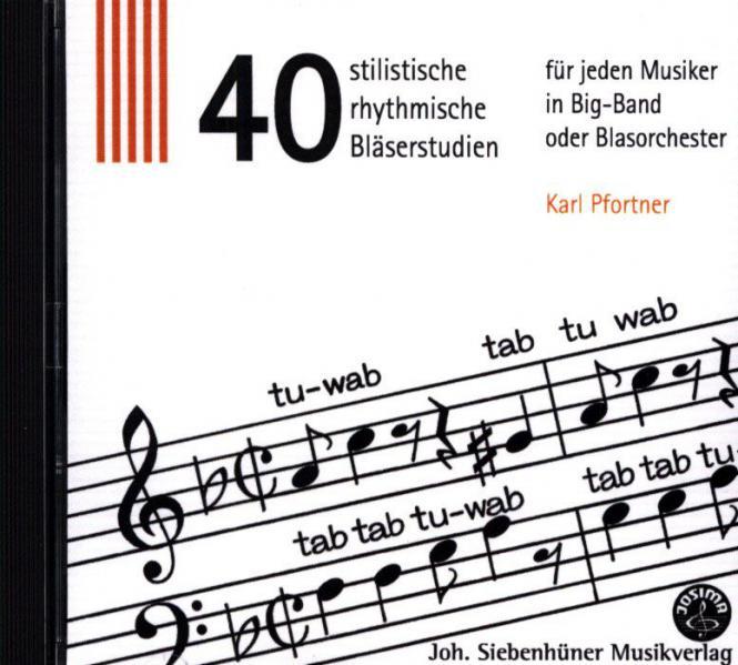 Tab Tu Wab - 40 stilistische, rhythmische Bläserstudien