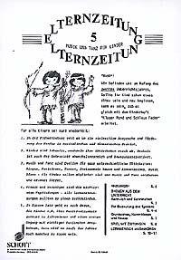 Kluger Mond und schlaue Feder - Elternzeitung 5