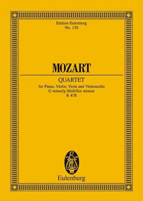Klavierquartett g-Moll KV 478 Standard