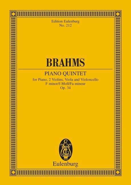 Klavierquintett f-Moll op. 34 Standard