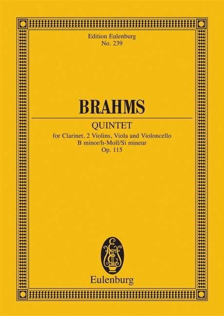 Quintett h-Moll op. 115 Standard