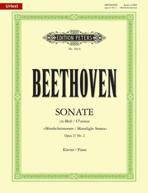 Sonate für Klavier Nr. 14 cis-Moll op. 27, 2