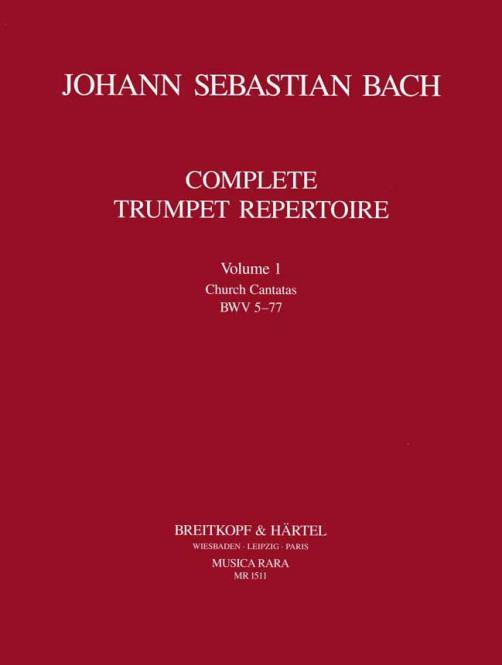Vollständiges Trompeten-Repertoire Band 1