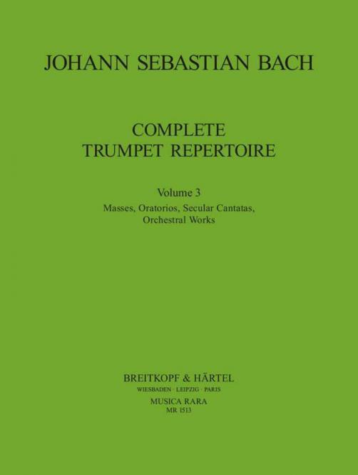 Vollständiges Trompeten-Repertoire Band 3