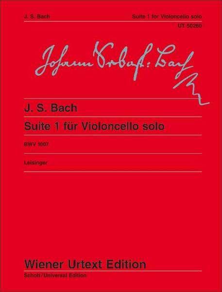 Suite Nr. 1 in G-Dur BWV 1007