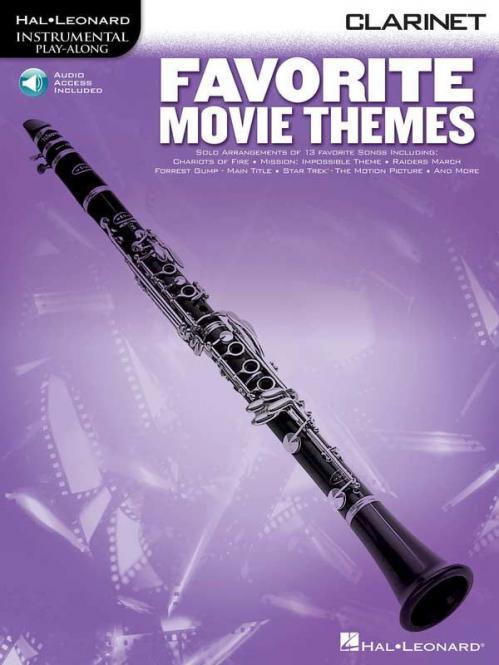 Favorite Movie Themes Clarinet