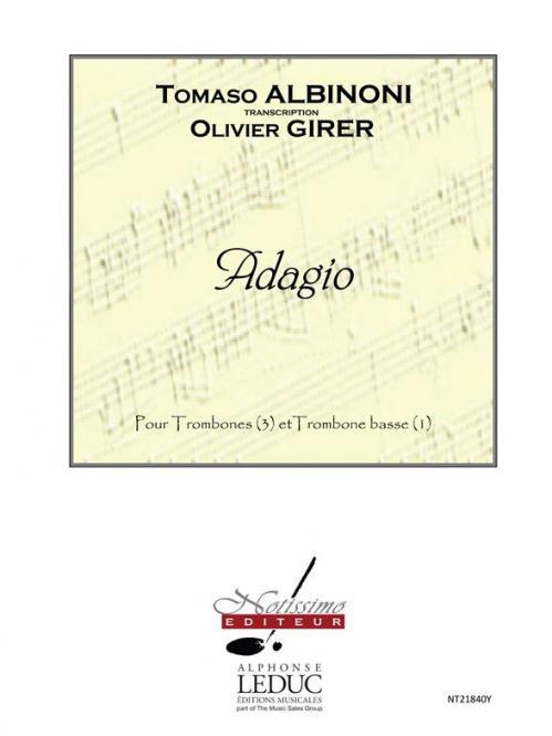 Adagio pour 3 Trombones et 1 Trombone Basse