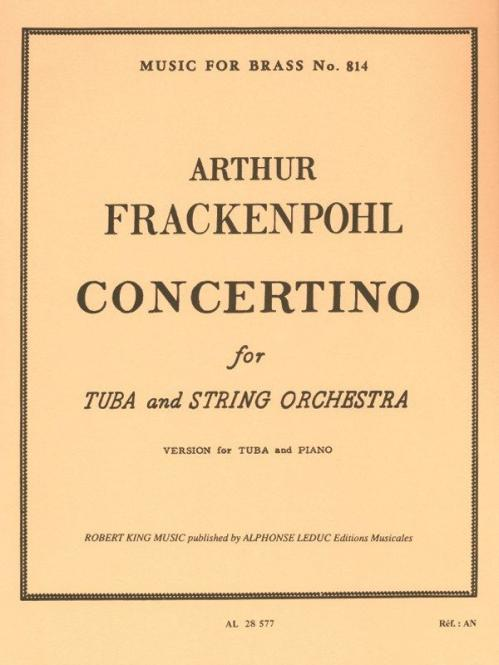 Concertino / Tuba And Strings