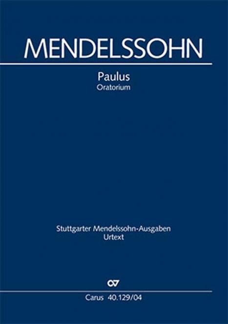 Paulus op. 36 - Klavierauszug, deutsch