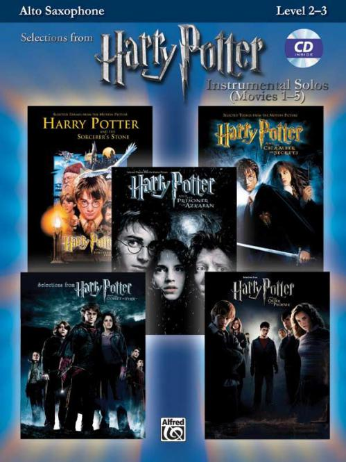 Harry Potter Instrumental Solos (Movies 1-5)