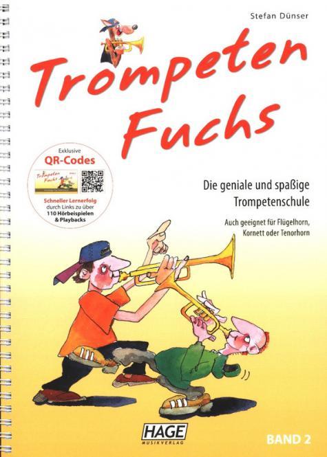 Trompeten Fuchs Band 2 (+QR-Codes)