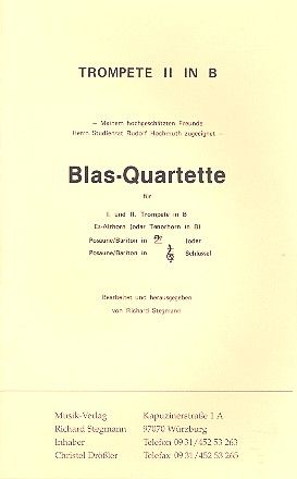 Blas-Quartette komplett