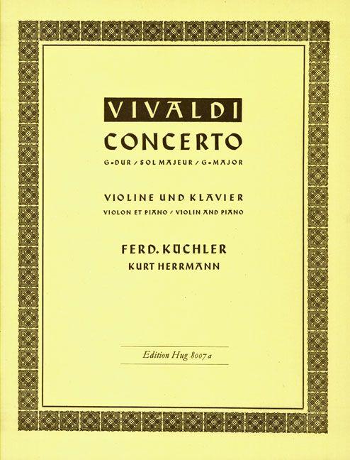 Konzert G-Dur op. 3/3