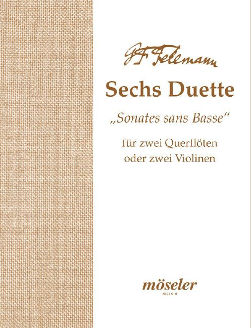 6 Duette/Sonaten op. 2