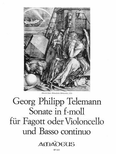Sonate in f-moll TWV 41:f1
