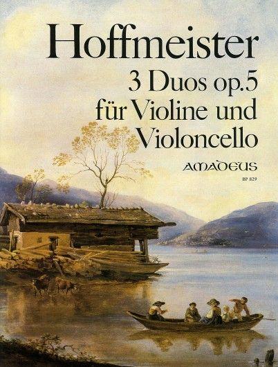 3 Duos op. 5 für Violine und Violoncello