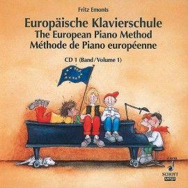 Europäische Klavierschule Band 1 CD