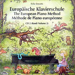 Europäische Klavierschule 2 CD