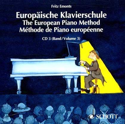 Europäische Klavierschule Band 3 CD