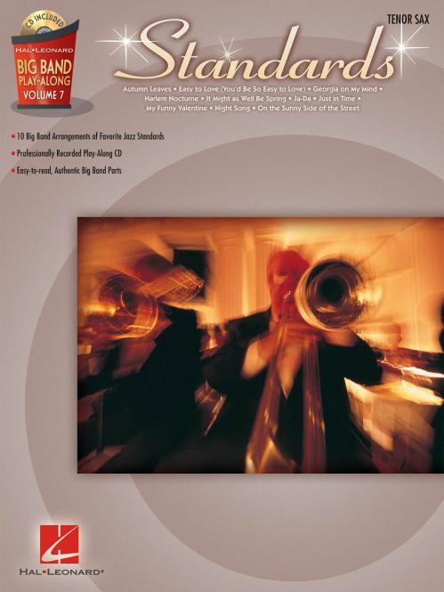 Big Band Play-Along Vol. 7: Standards for Tenor Sax