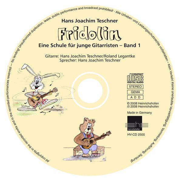 Fridolin Gitarrenschule 1 Begleit-CD