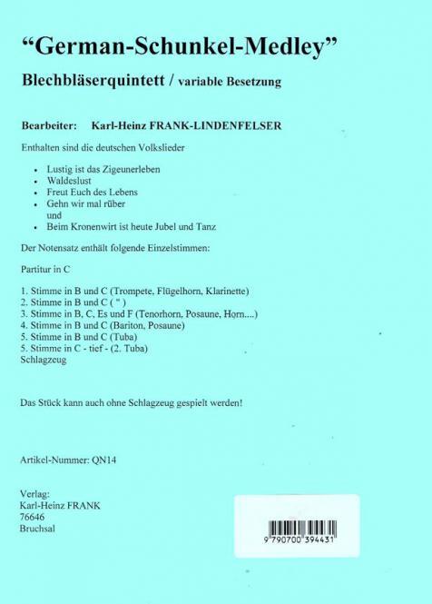 German-Schunkel-Medley Standard