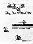 Granada - Partitur - Welterfolge für Zupforchester