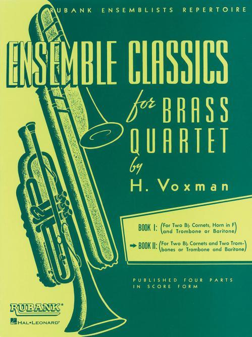 Ensemble Classics For Brass Quartets Vol. 2
