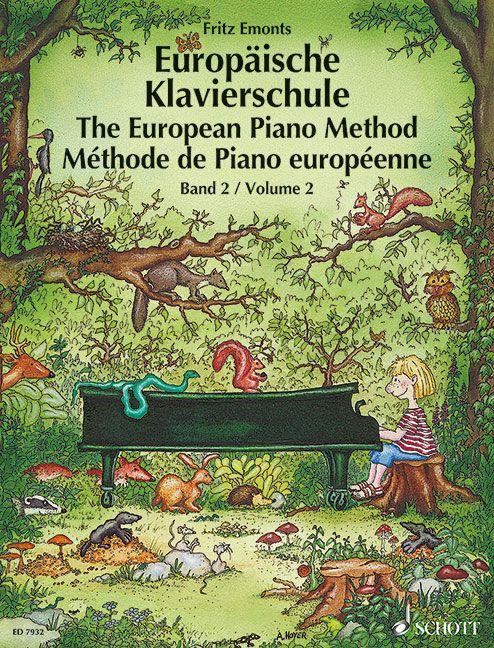 Europäische Klavierschule Band 2