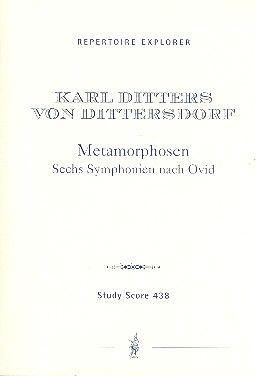 Metamorphosen Sechs Symphonien nach Ovid