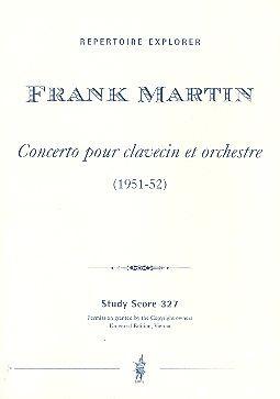 Concert pour Clavecin et petit orchestre (1951-52)