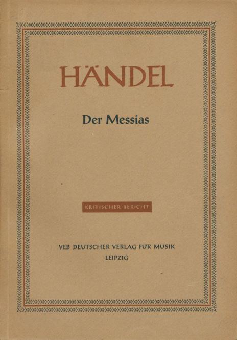 Der Messias HWV 56