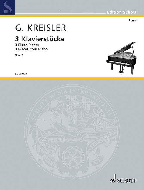 Drei Klavierstücke Standard