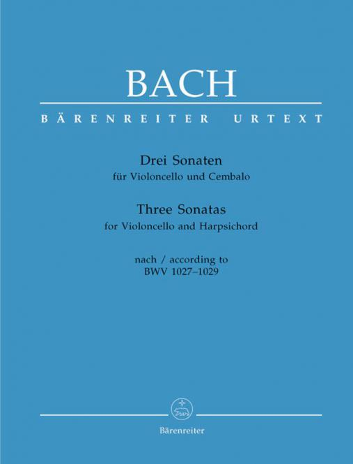 3 Sonaten nach BWV 1027-1029