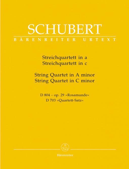 Streichquartett a-Moll & c-Moll
