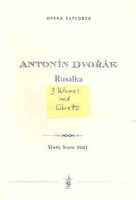 Mlada (dreibändig mit english / russischem Libretto)