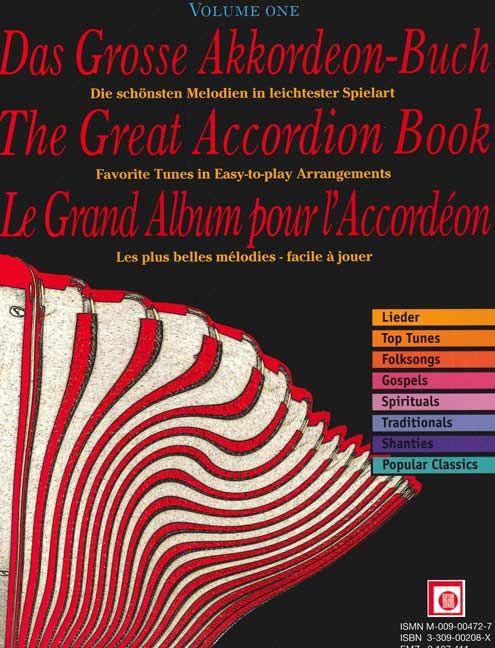 Das große Akkordeonbuch Band 1