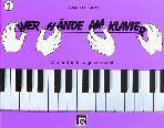Vier Hände am Klavier Band 1