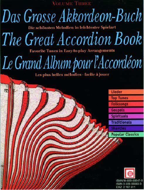 Das große Akkordeonbuch Band 3