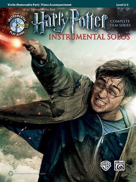 Harry Potter Instrumental Solos For Strings